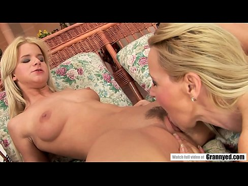 Petite Teen And Her Saggy Titted Mature Teacher
