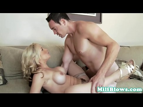 Gorgeous Milf Tittyfucked And Pussy Railed